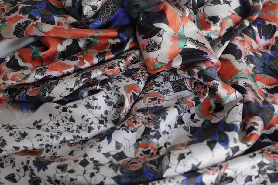 aurélia leblanc créatrice textile impression numérique fleurs jean-paul gaultier